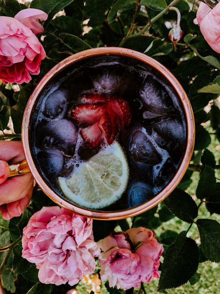 Strawberry-Basil Infused Vodka