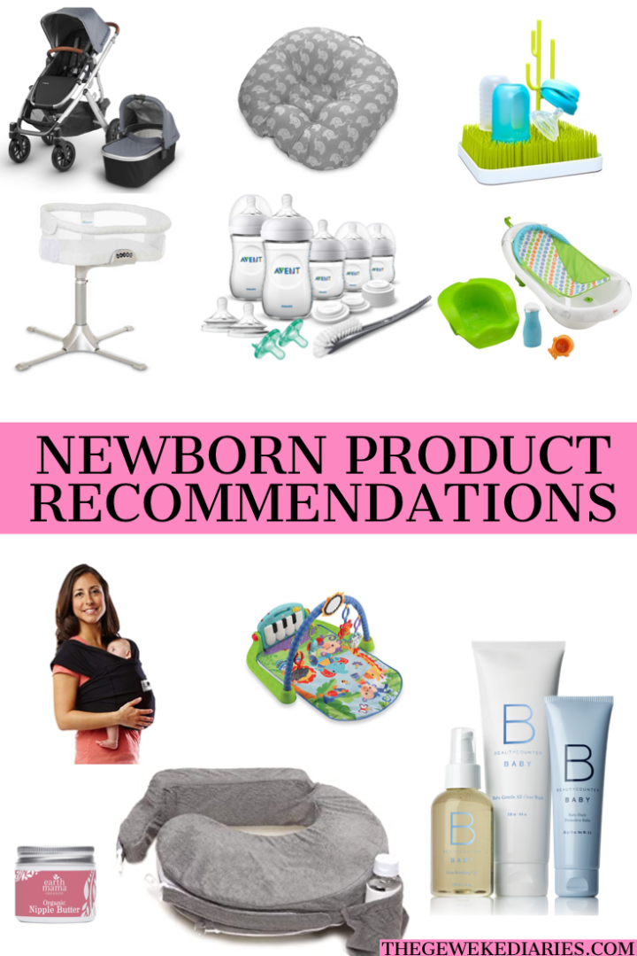 Newborn Product Recommendations